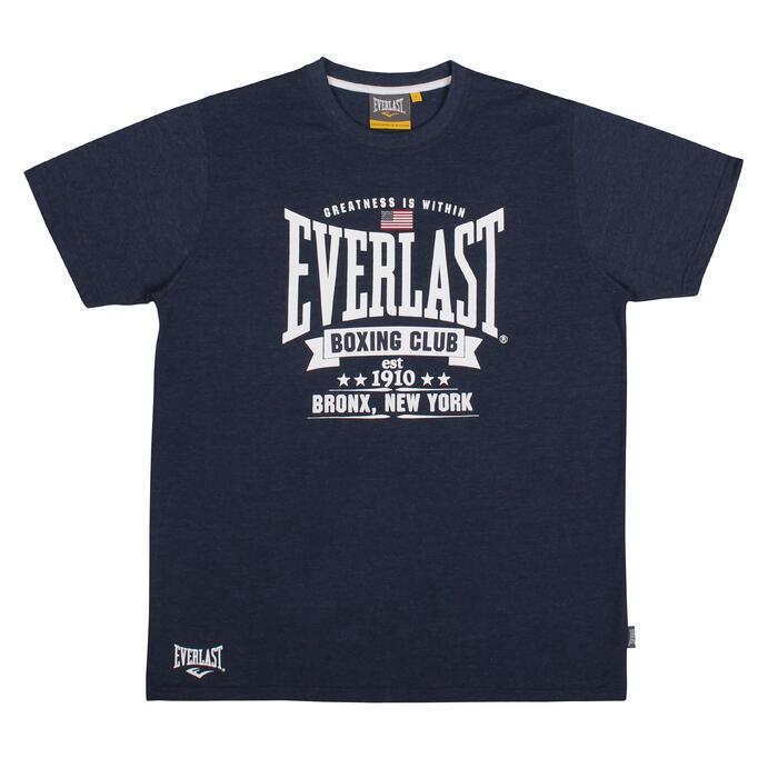 Boks T-shirt Everlast gemêleerd marineblauw