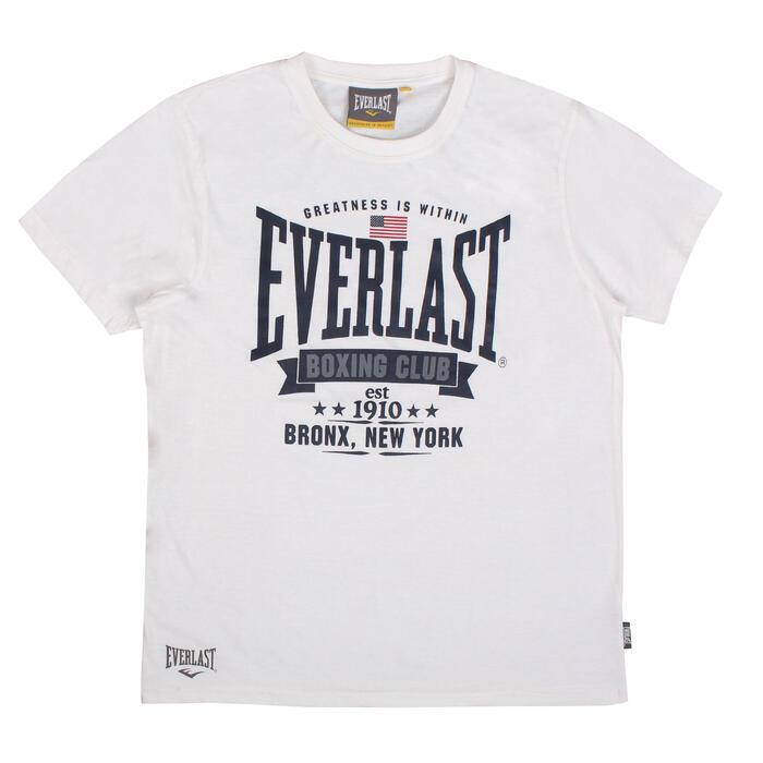 Boks T-shirt Everlast wit