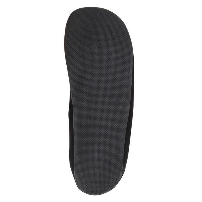 Halfhoge surfschoenen 100 neopreen 2 mm zwart