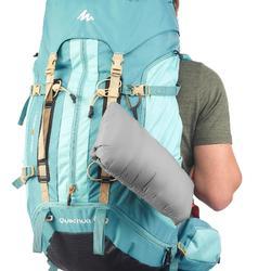 Abrigo Chaqueta Plumón Montaña y Trekking TREK100 Acolchada Hombre Gris