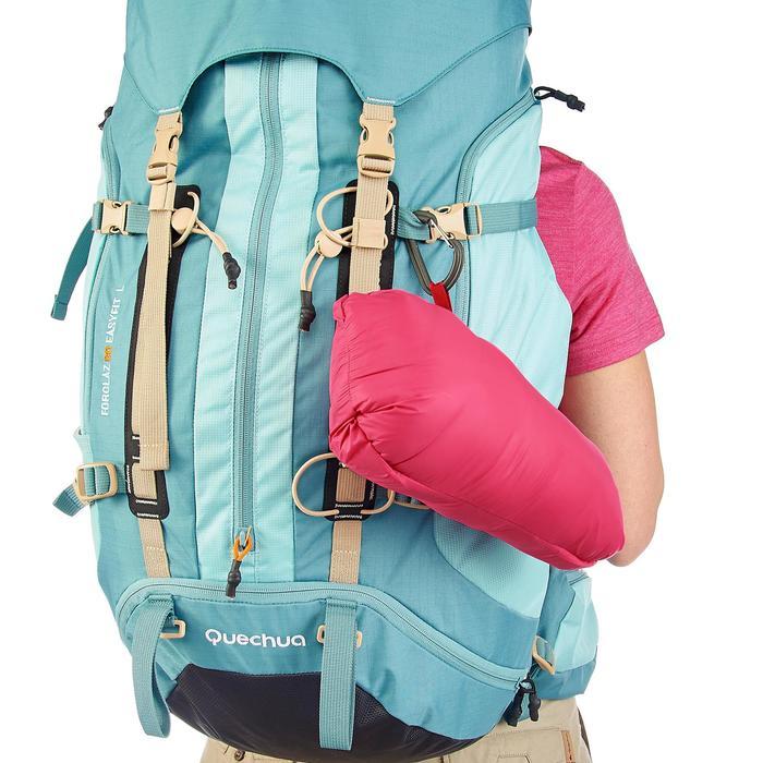 Doudoune trekking montagne TREK500 femme rose