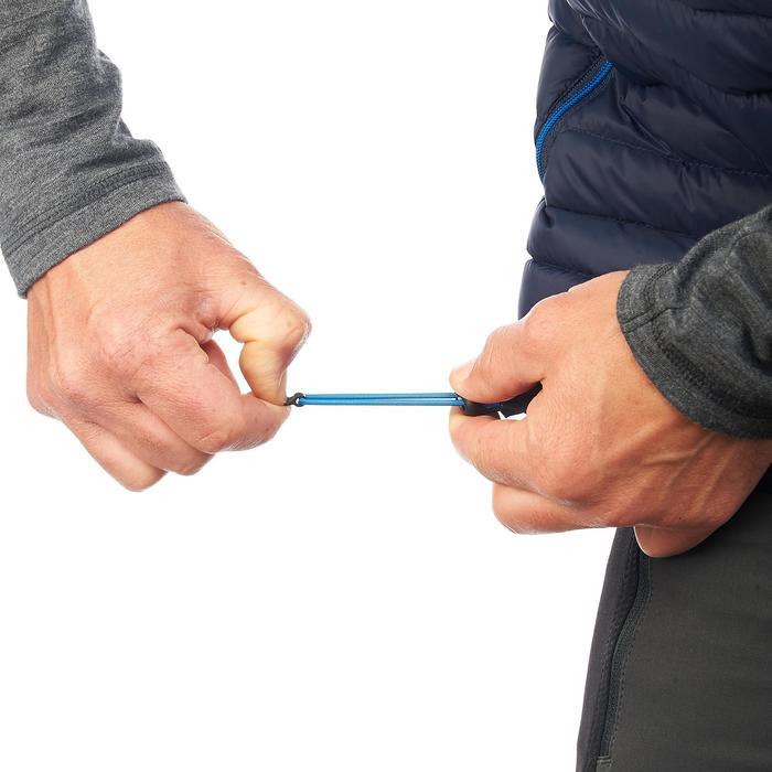 Dons bodywarmer voor bergtrekking heren Trek 100 marineblauw