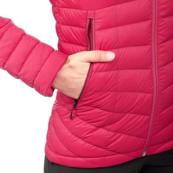 Daunenjacke Trek 500 Damen rosa