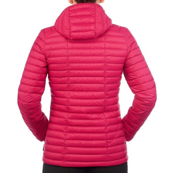 Daunenjacke Trek500 Damen rosa