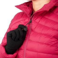 Donsjas voor bergtrekking dames Trek 100 roze