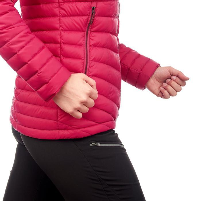 Chaqueta acolchada trekking en montaña TREK 500 mujer rosa