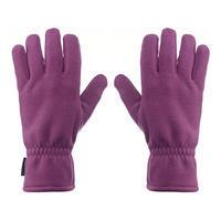 Trek 500 Adult Fleece Mountain Trekking Gloves - Purple