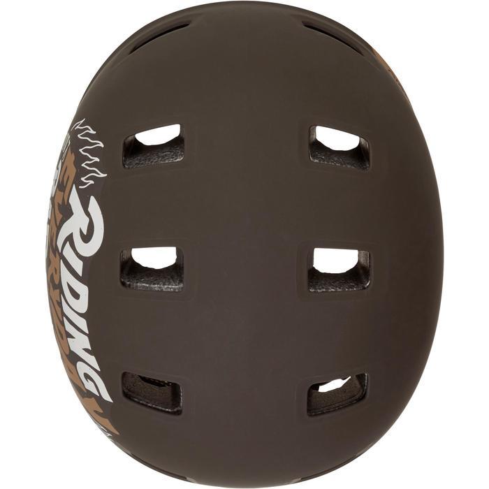 Casco para roller skateboard patinete MF540 BAD DAYS negro