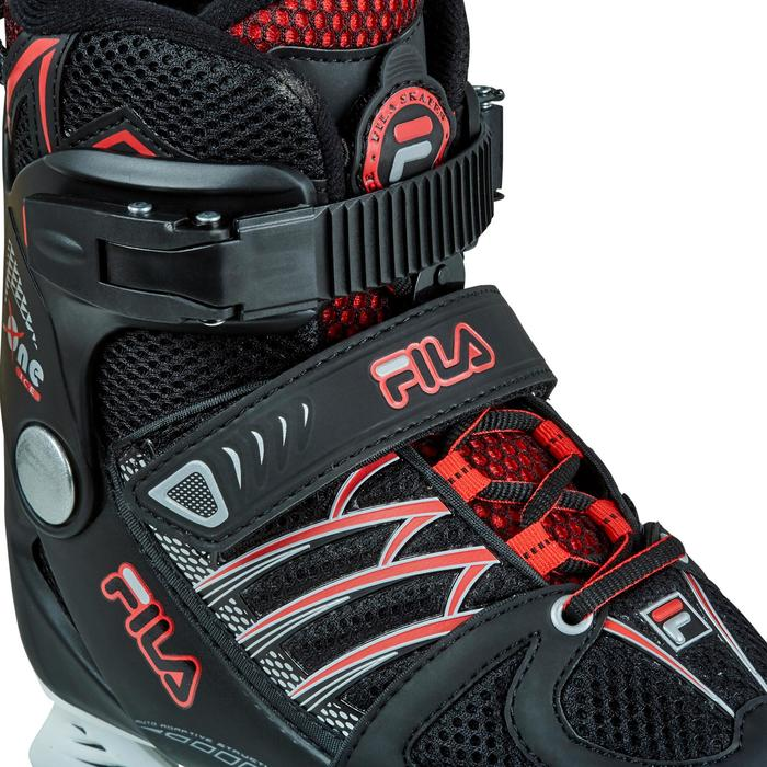 PATIN A GLACE X-ONE ICE BLACK RED - 1223504