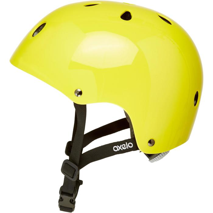 Play 3 Inline Skating Skateboarding Scootering and Cycling Helmet - Yellow