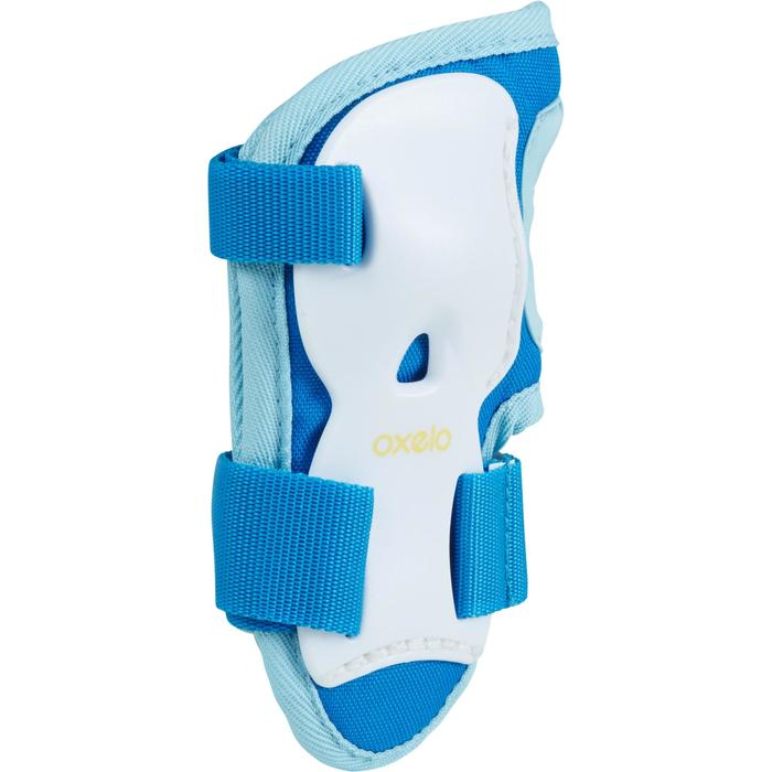 Play Children's 3-Piece Protective Gear for Skates/Skateboard/Scooter - Blue - 1223545