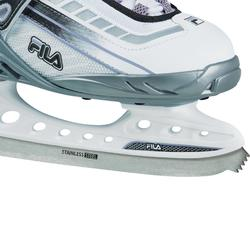 PATIN A GLACE BOND WHITE LILLA LADY