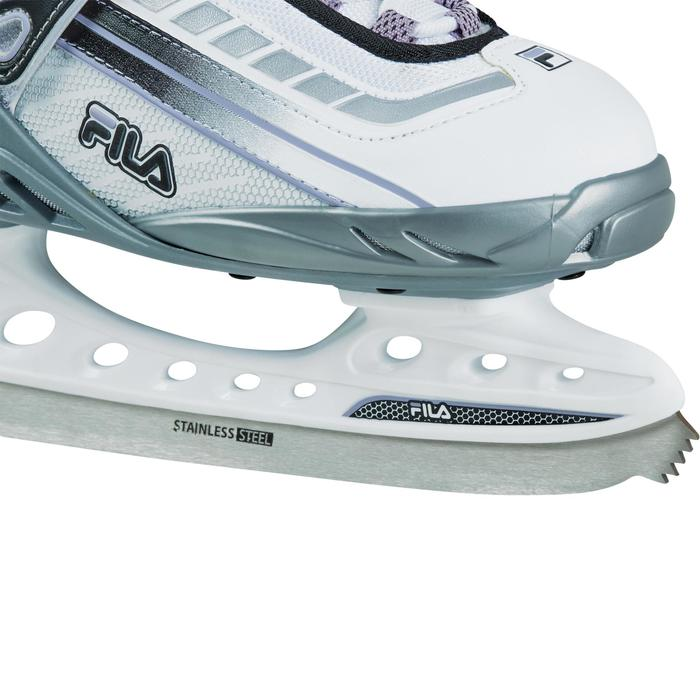 PATINES SOBRE HIELO BOND WHITE LILLA LADY