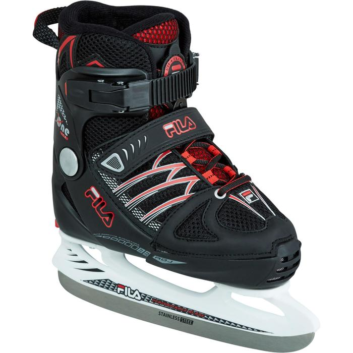 PATIN A GLACE X-ONE ICE BLACK RED - 1223560