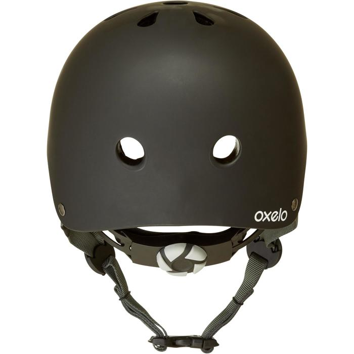 Play 5 Helmet Inline Skating Skateboarding Scootering Cycling - Black