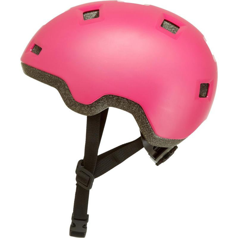 Casco para patines, skateboard y scooter B100 rosado