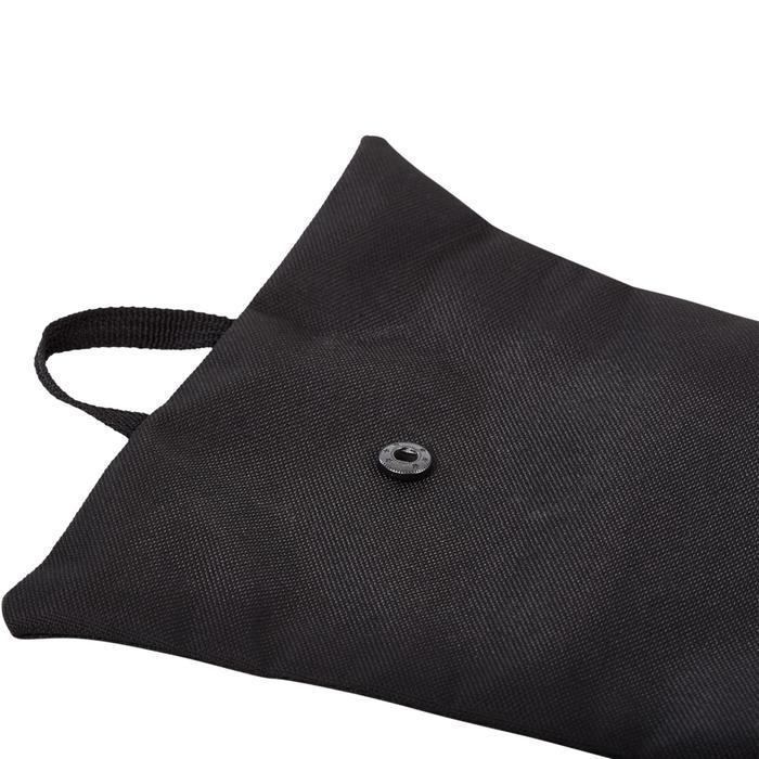 Hockeyschläger-Tasche schwarz