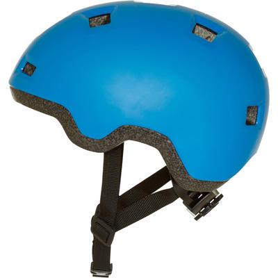 Casque enfant roller skateboard trottinette B100 bleu