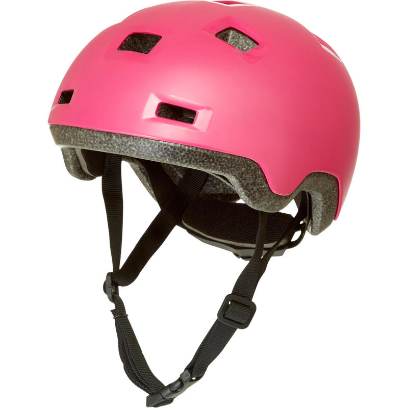 Kids' Inline Skating Skateboard Scooter Helmet B100 - Pink