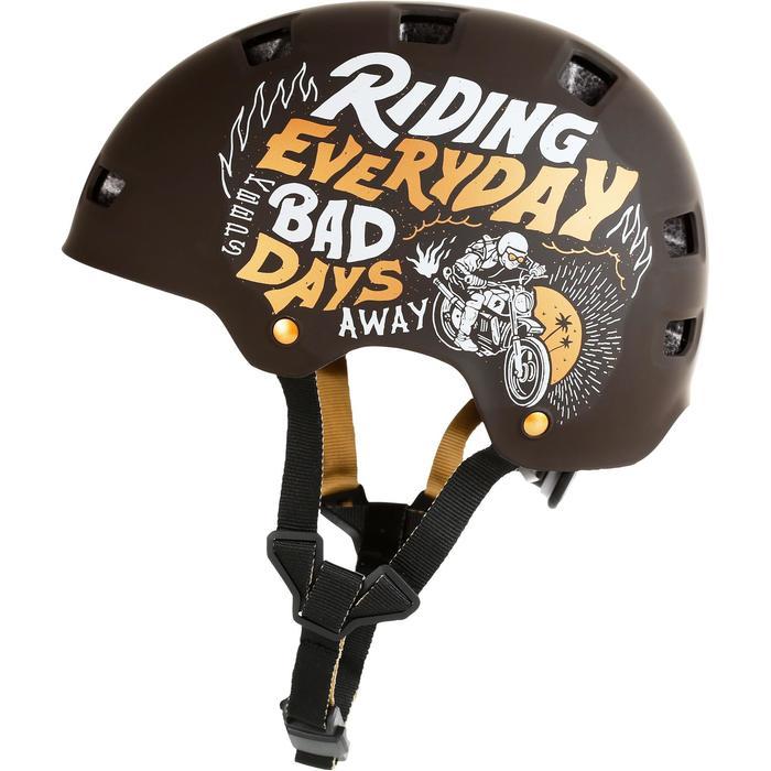 Helm MF 540 voor skeeleren, skateboarden, steppen mint - 1223677