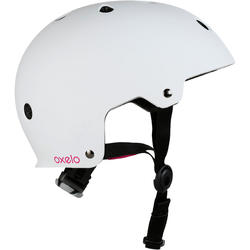 Play7 Mandala Inline Skating Skateboard Scooter Helmet - White