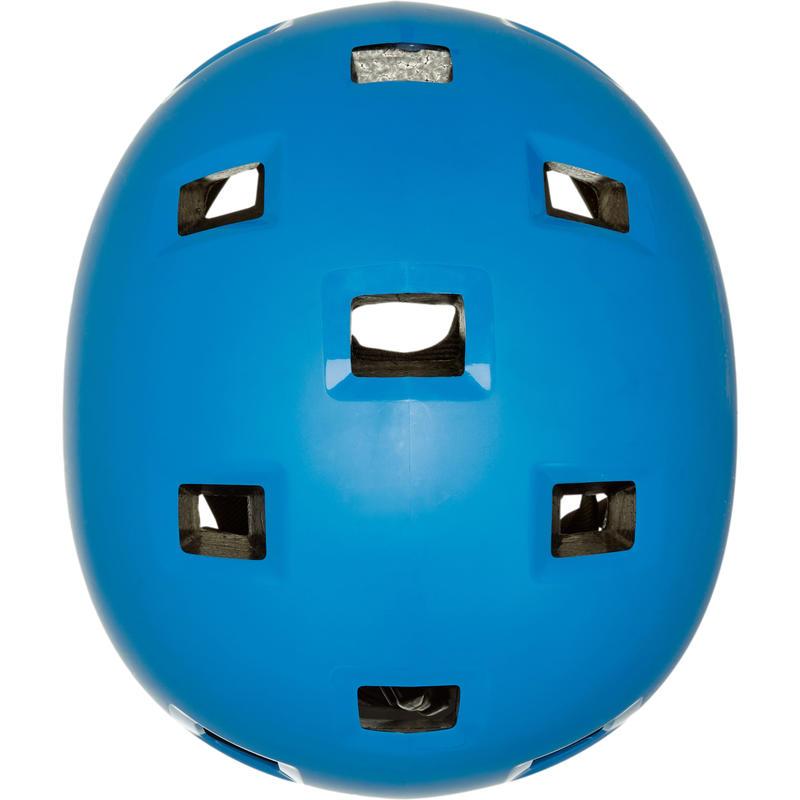 Casco para roller skateboard skate B100 azul
