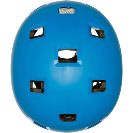 Kids' Inline Skates Skateboard Scooter Helmet B100 - Blue