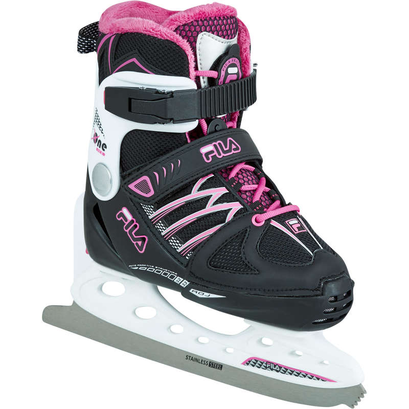 JUNIOR FITNESS ICE SKATES Ice Skating - Ice Skates - Black/Magenta FILA - Ice Skating