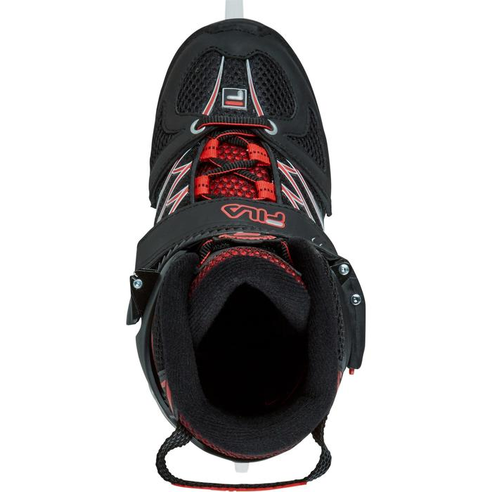 PATIN A GLACE X-ONE ICE BLACK RED - 1223721