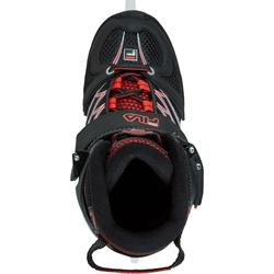 PATINES SOBRE HIELO X-ONE ICE BLACK RED