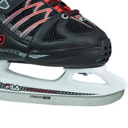 PATIN A GLACE X-ONE ICE BLACK RED
