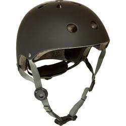 Play 5 直排輪、滑板、滑板車及自行車運動安全帽 - 黑色