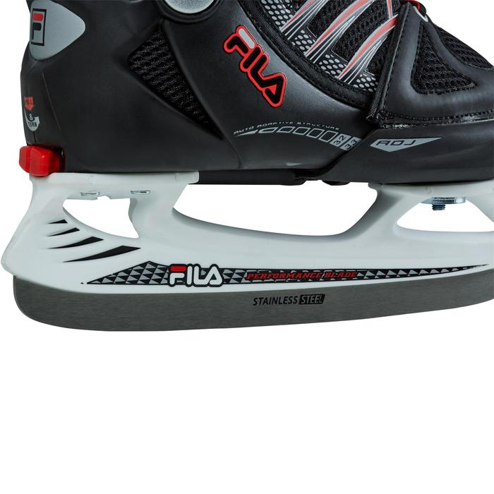 PATIN A GLACE X-ONE ICE BLACK RED - 1223771