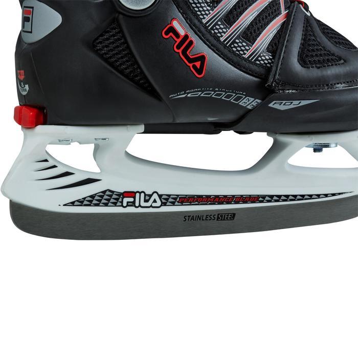 Schaatsen X-One Ice zwart rood