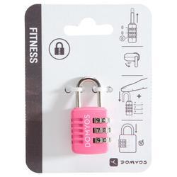 Zahlenschloss rosa