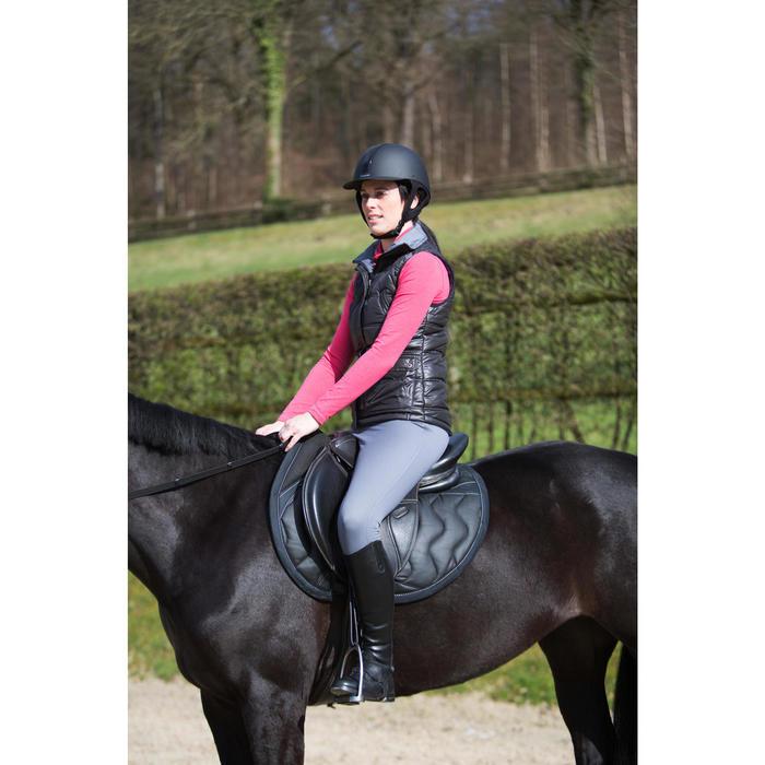 Pantalón cálido equitación mujer ACCESSY gris