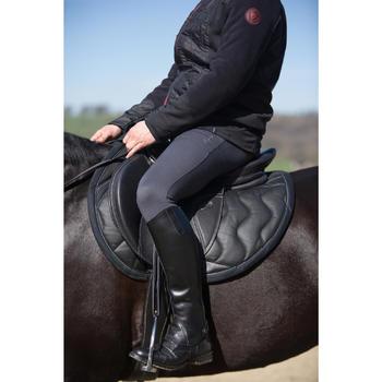 Pantalon chaud équitation homme VICTOR gris foncé - 1223875