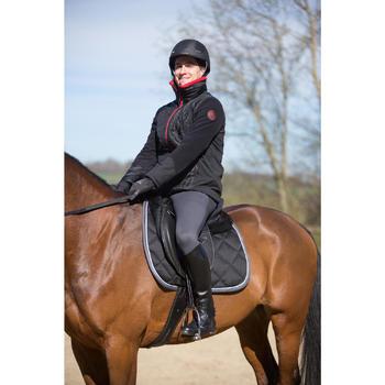Pantalon chaud équitation homme VICTOR gris foncé - 1223880