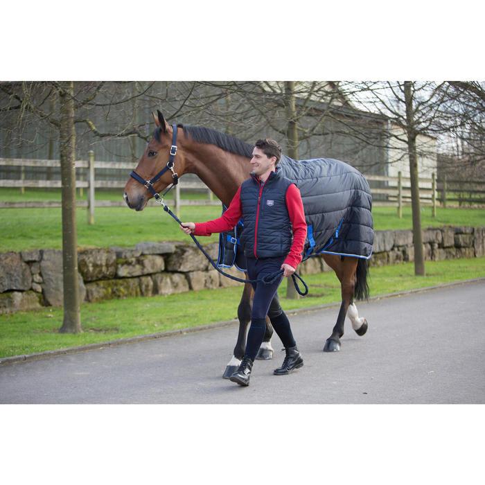 Couverture d'écurie équitation cheval et poney STABLE 200 marine