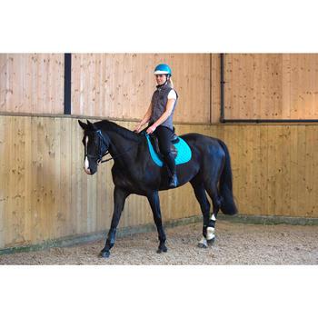 Casco de equitación 100 turquesa
