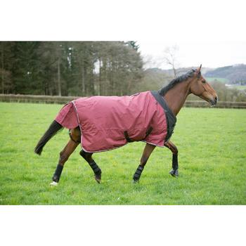 Winter-Regendecke Allweather 300g 1000D wasserdicht Pferd/Pony bordeaux