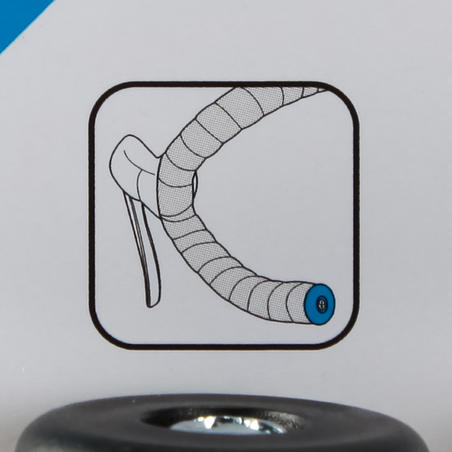 Handlebar End Plugs - Black
