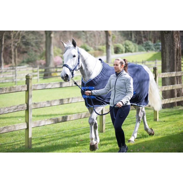 Chemise d'écurie équitation poney et cheval POLAR 500 gris foncé - 1224162