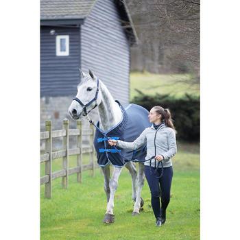 Chemise d'écurie équitation poney et cheval POLAR 500 gris foncé - 1224163