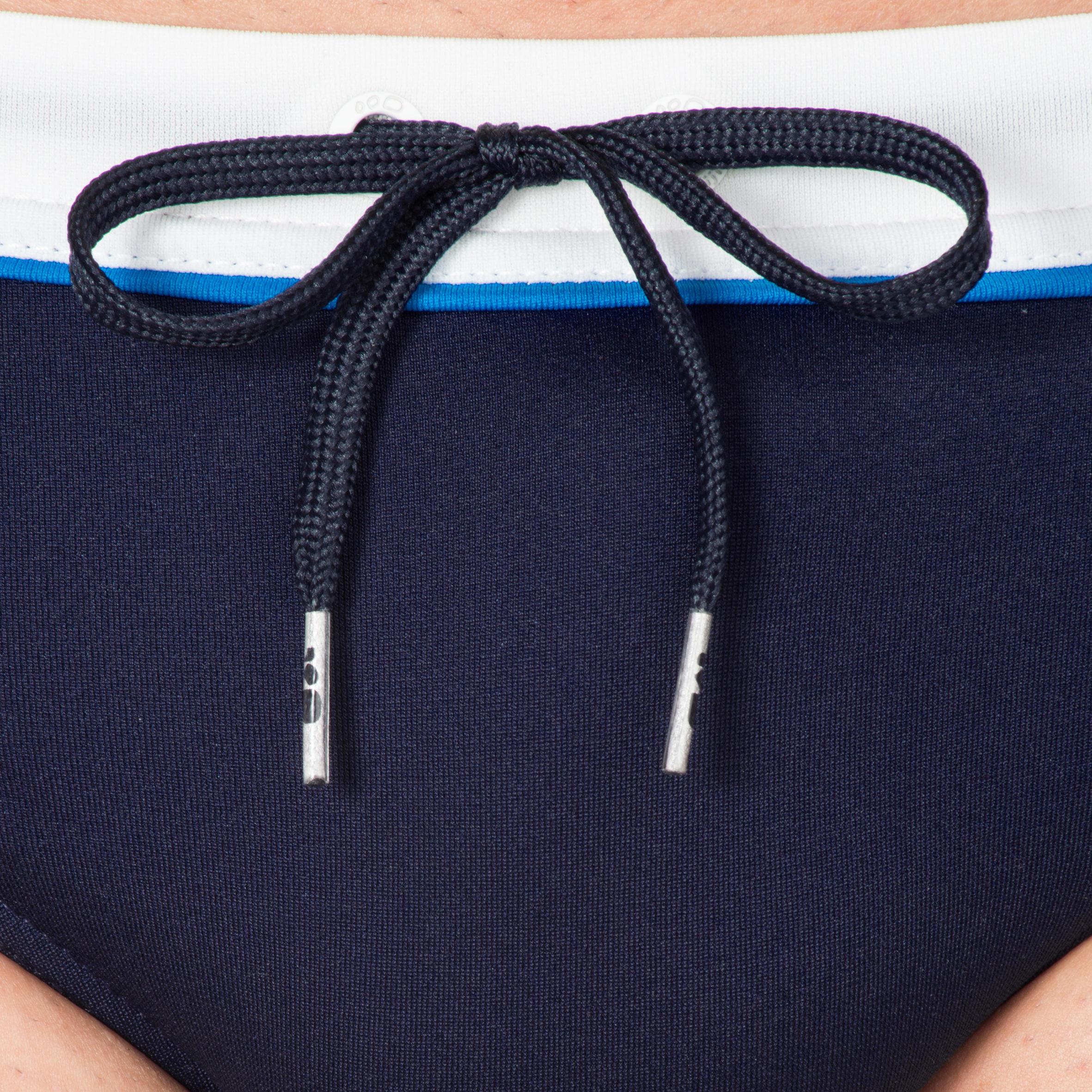 Traje Azul Calzoncillo Para De Blanco Natación B Sporty Pep Hombre ulFKJc35T1