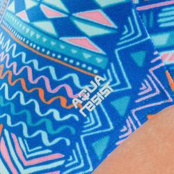Badeanzug Jade chlorresistent Mädchen blau