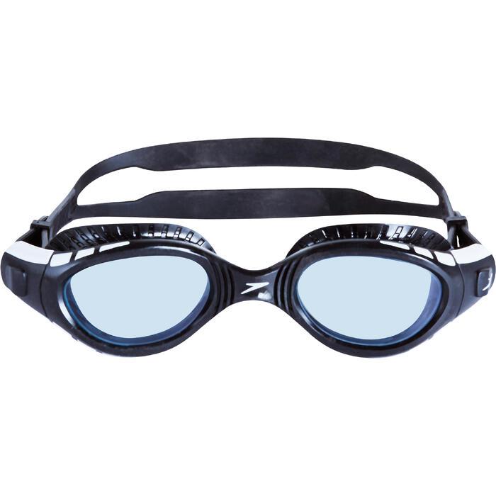 Zwembril Futura BioFuse Flexiseal getint zwart