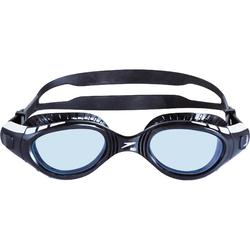 Zwembril Futura BioFuse Flexiseal zwart getinte glazen