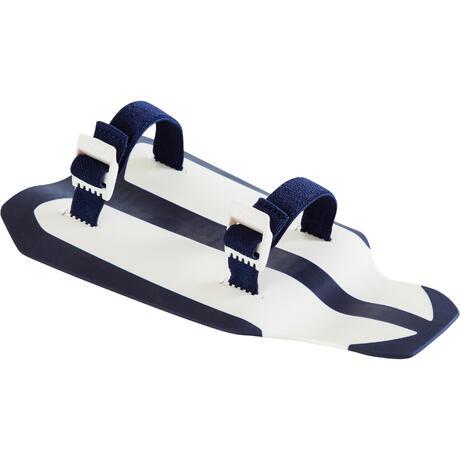 5523ee7d8f Nabaiji Easystroke Swimming Hand Paddles - White Dark Blue