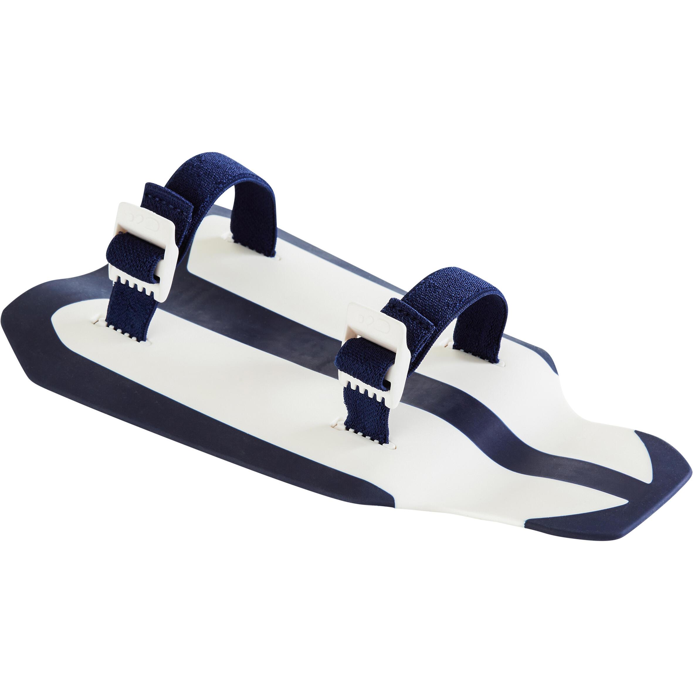 Nabaiji Easystroke Swimming Hand Paddles - White Dark Blue
